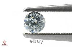 0.17 Carat Fancy Blue Loose Diamond Natural Color Round Shape Certified