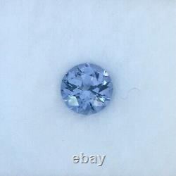 6.3 mm Blue Purple Gray Tunduru spinel USA precision cut 1.01 carats