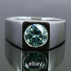 Blue Diamond Ring. 2 carat Certified & Earth mined. Excellent cut & Luster
