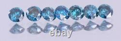 Fancy Blue Natural Diamond Loose 1 Carat (16-17 PTS LOT) Real Image Cheap CLEAN