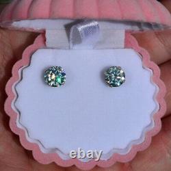 Gorgeous 3.34 Carat DEW Maui Estate Stud Earrings 100% Genuine Moissanites