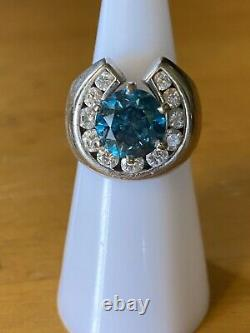 Loose natural certified diamonds 3 Carats Round Sl1 Natural Only Color Enhanced
