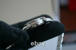 Omega Speedmaster 1.0 Carat Diamond 3515.71 MOP Dial 36mm Case Full Box Set