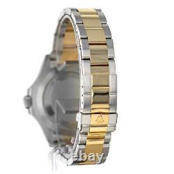 Rolex 16623 Yacht-Master G Box Paper Blue Dial Steel 18 Karat Yellow Gold Swiss