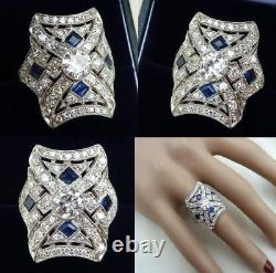 Vintage Edwardian Antique 1.0 Carat Diamond Engagement Art Deco Filigri Era Ring