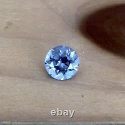6,3 MM Blue Purple Gray Tunduru Spinel Coupe De Précision Aux États-unis 1,01 Carats