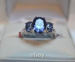 7.25 Carate Premium Aaa Tanzanite Cocktail Dinner Tribal Gypsy 14k Or Fill-6