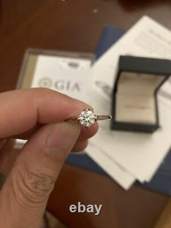 Bague De Diamants Du Nil Bleu. 76 Carats Rd F Vs2