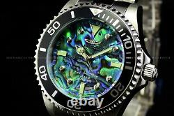 Invicta Hommes 47mm Grand Pro Diver 0.03 Carat Diamonds Abalone Dial Ss Watch