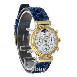 Iwc Iw3735 Davinci 18 Karat Or Jaune Quartz Chronographe 3735 Ladies Watch