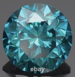 Loose Naturel Certifié Diamants 3 Carats Ronde Sl1 Naturel Seulement Couleur Améliorée