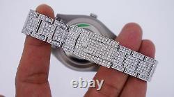 Rolex Date Just II 2 41mm Watch Iced Out 19 Carat Diamonds Meilleur Prix Sur Ebay